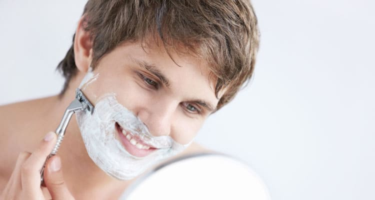 afeitado gay tú