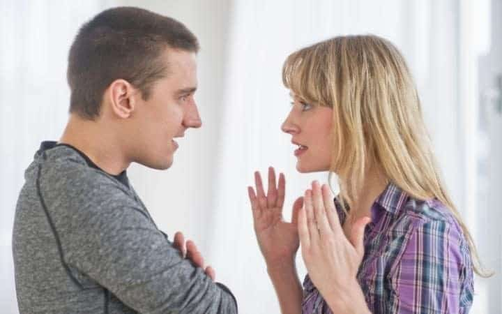 Resultado de imagen de couple discussion