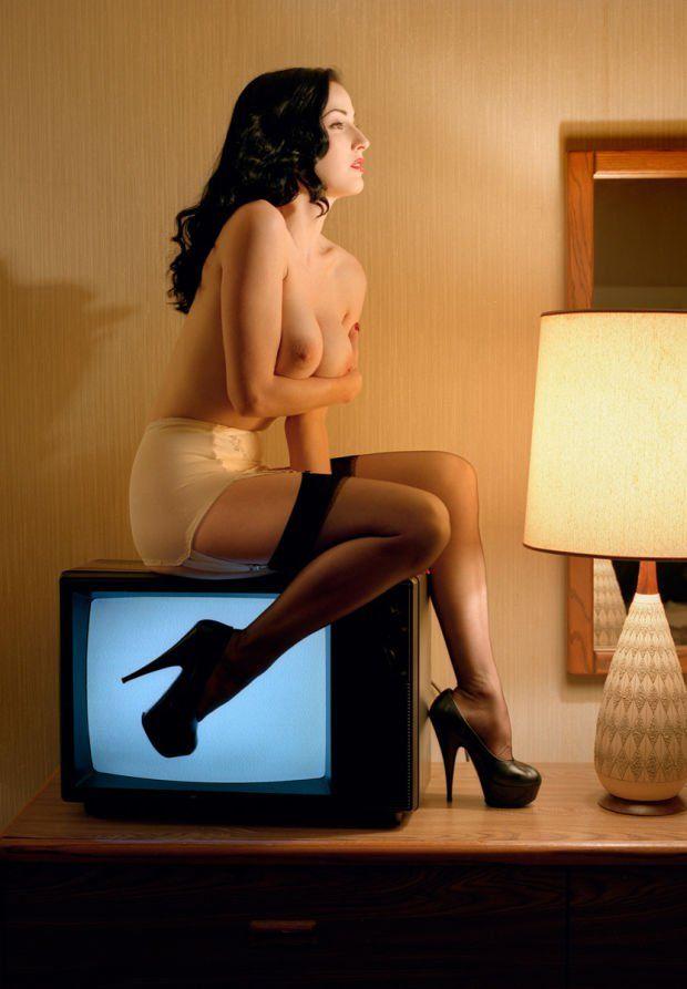Dita Von Teese Chas Ray Krider burlesque cabaret erotica