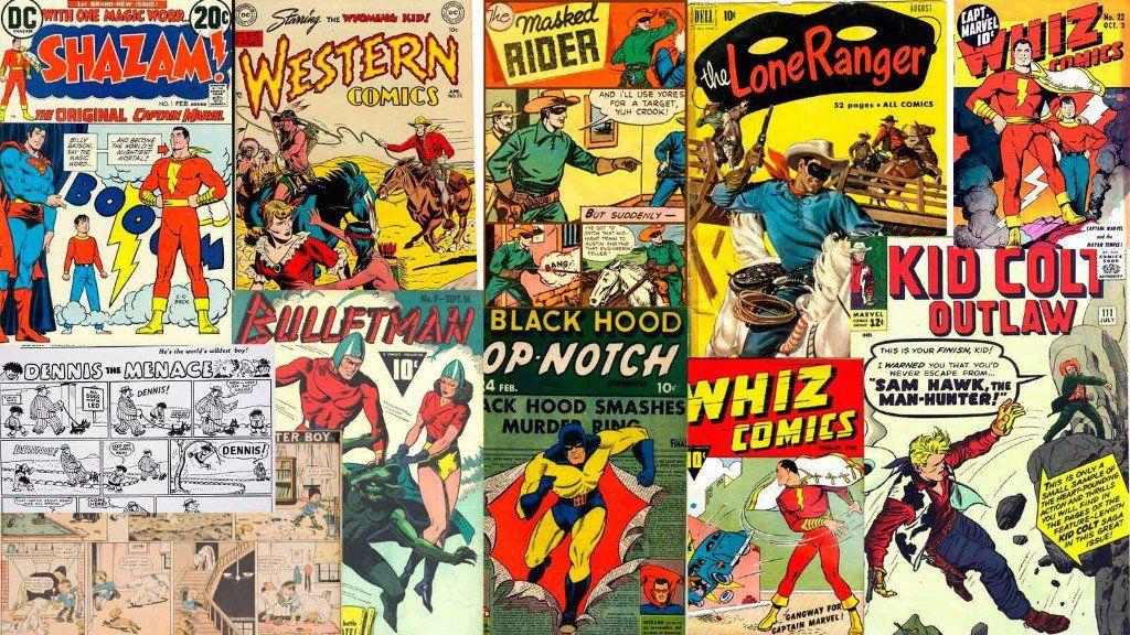 mundo de los cómics