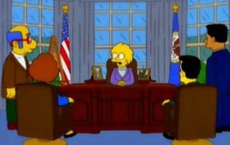Los Simpsons Predijeron a Trump