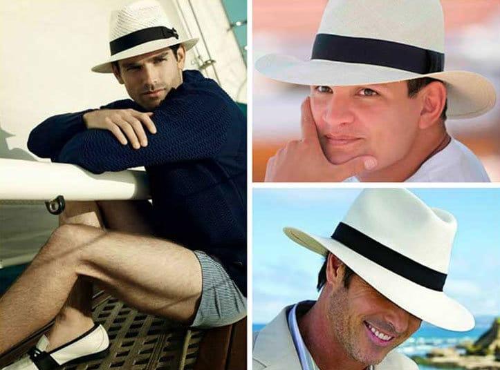 Pitti Uomo y el street style  el sombrero Panamá es el  must have ... fa9f5c5fa21