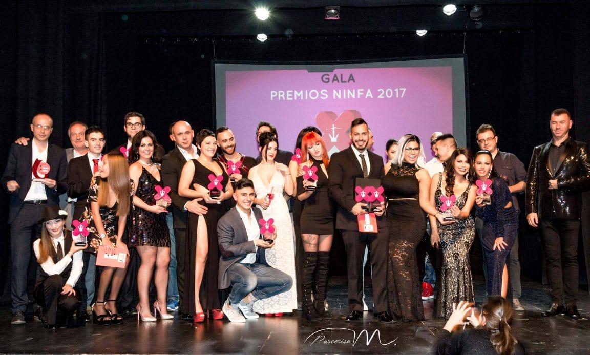 Actrices Salón Porno 2017 ✍el salón erótico de barcelona celebra los premios ninfa