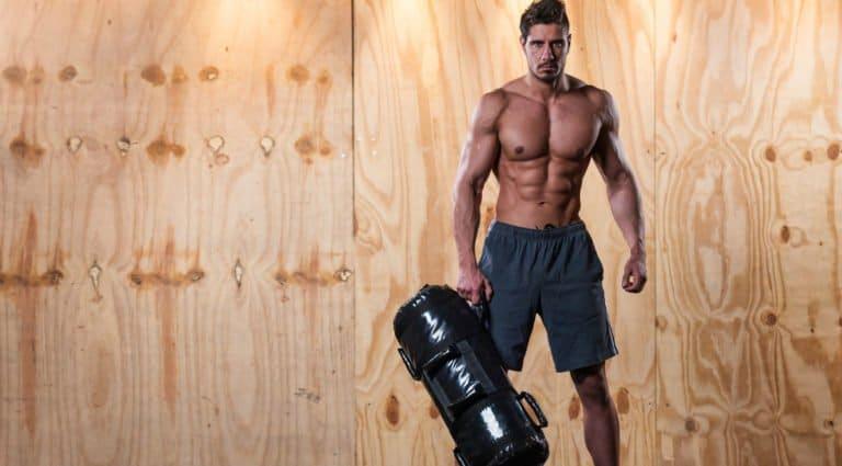 entrenamiento saco de arena