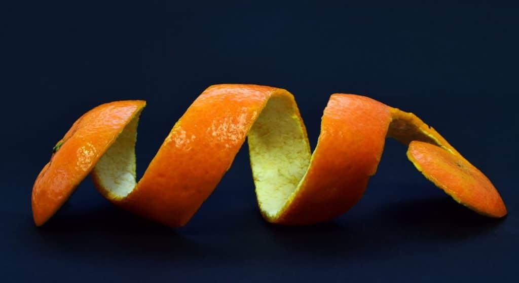 cáscara de frutas