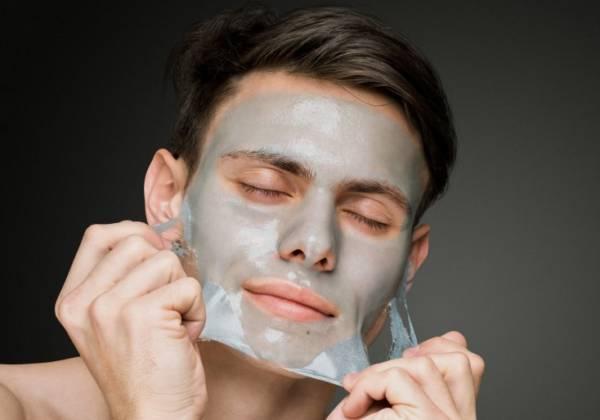 mascarillas faciales para hombres