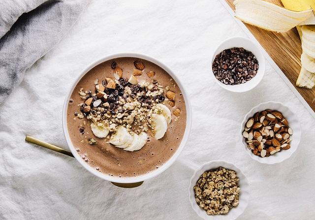 desayunos saludables almendras