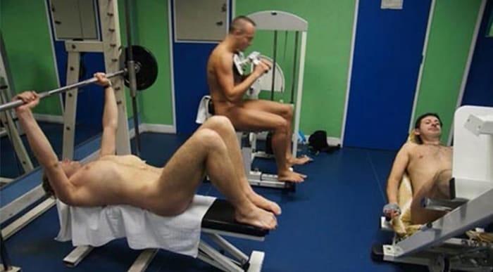 gimnasio nudista
