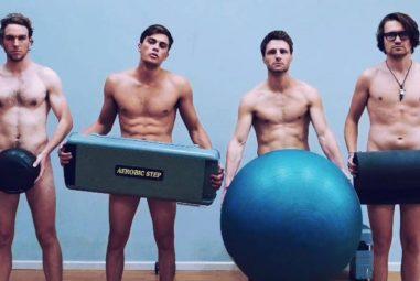 Conoce el nuevo gimnasio nudista en Francia