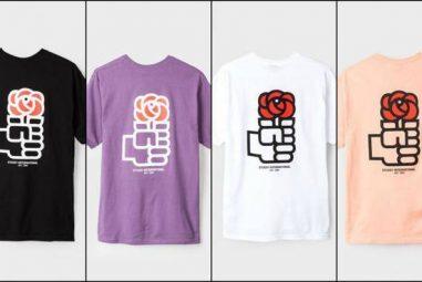 La camiseta «homenaje» a la rosa del PSOE que está arrasando en Twitter