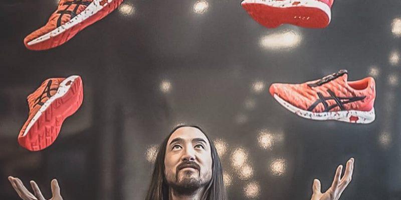 Zapatillas Asics: un nuevo modelo inspirado por el Dj Steve Aoki