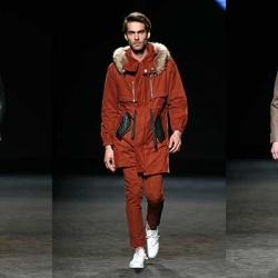 Pablo Erroz inauguró la 080 Barcelona Fashion con su 'ready to wear'