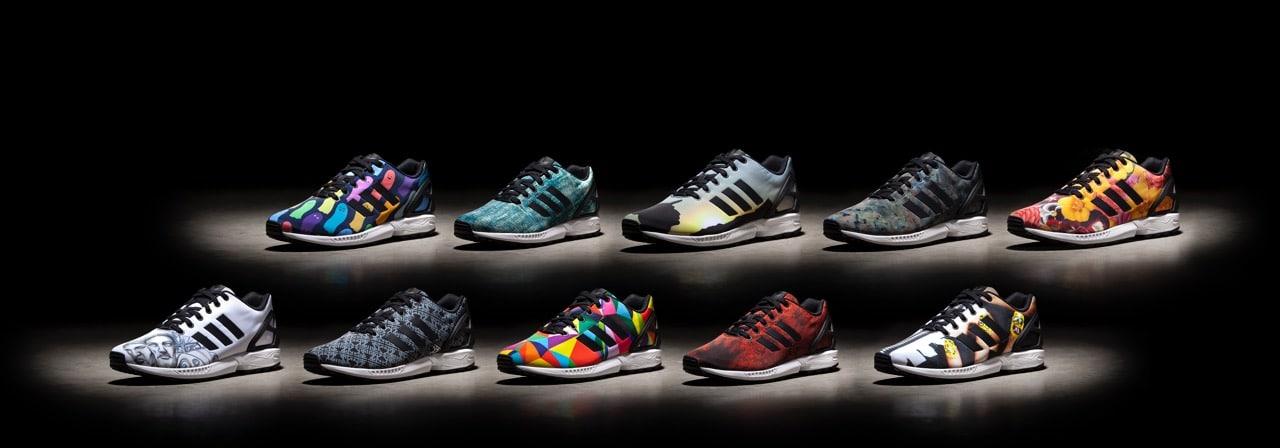 10 nombres. 10 diseños. Una zapatilla #mizxflux #adidasOriginals