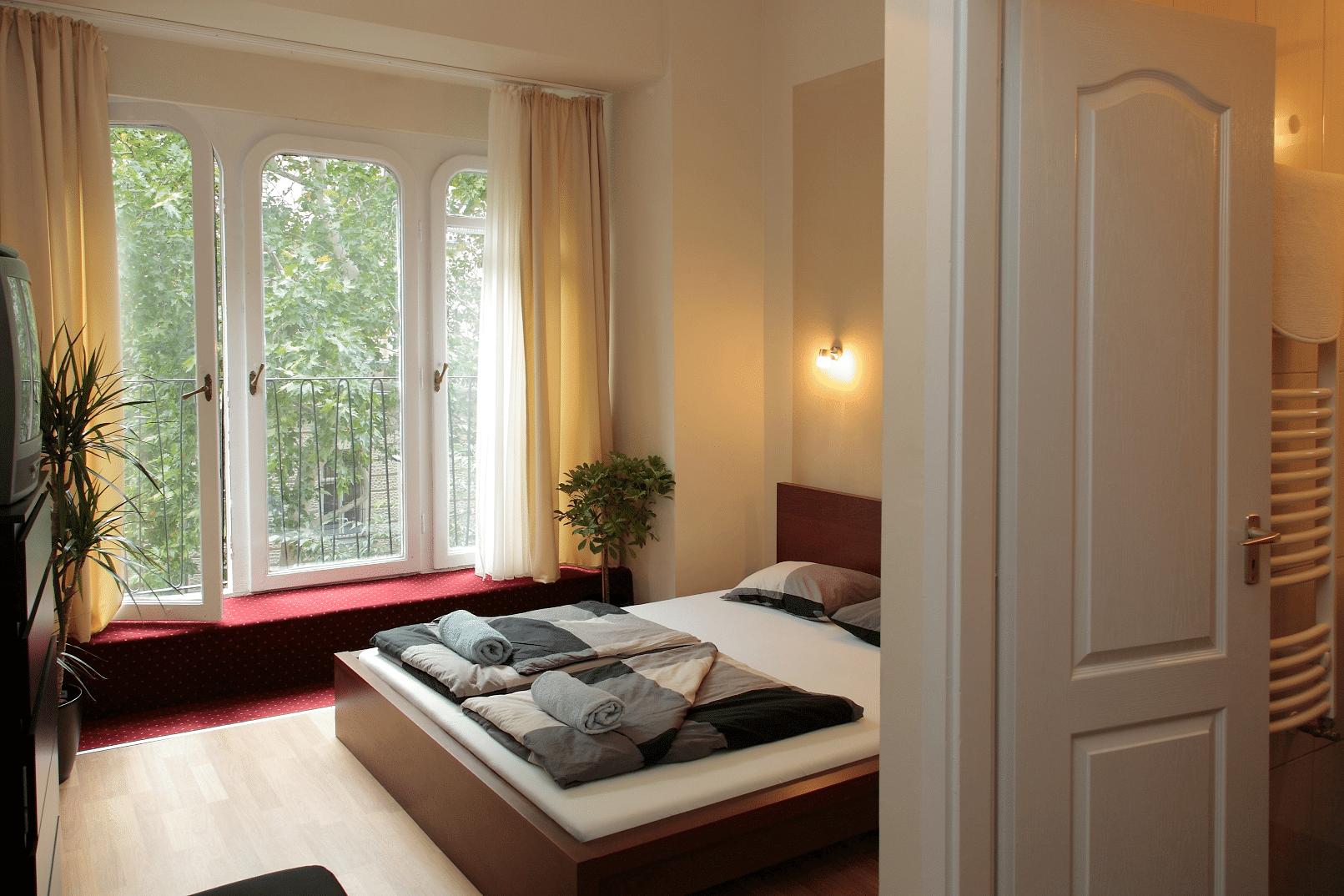 10. Habitación privada, Maverick Hostel (Budapest – Hungría)