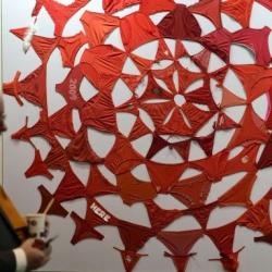 'Mandala (rojo)', 2012, de Pilar Albarracín
