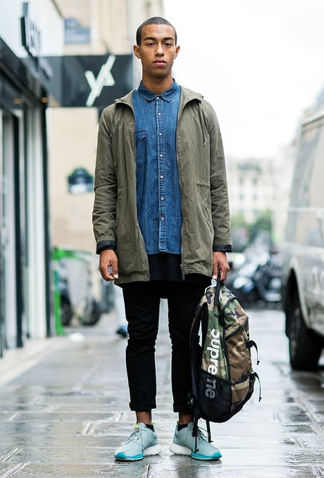 Look 'City Camouflage'