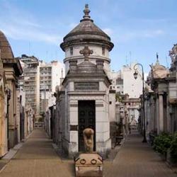 La Recoleta en Buenos Aires, Argentina