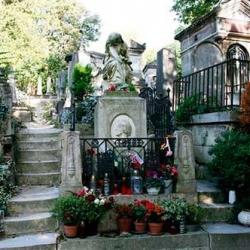 Pére Lachaise en París, Francia