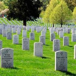 Nacional de Arlington en Virginia, Estados Unidos