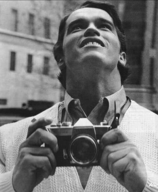 La primera vez de Arnold Schwarzenegger en NYC