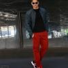 Camisa denim y pantalones de Timberland. Gafas de sol Wandy