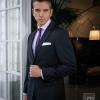 Traje clásico, camisa y corbata de Macson