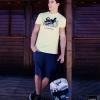 Camiseta: Longboard / bermuda: Protest / Mochila: Ripcurl