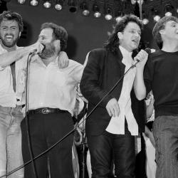Bono, George Michael y Paul McCartney