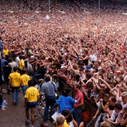 El mítico Wembley abarrotado