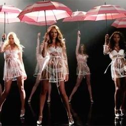 Victoria's Secret Angels & Umbrellas