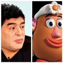 Los memes de Diego Armando 'Morritos' Maradona