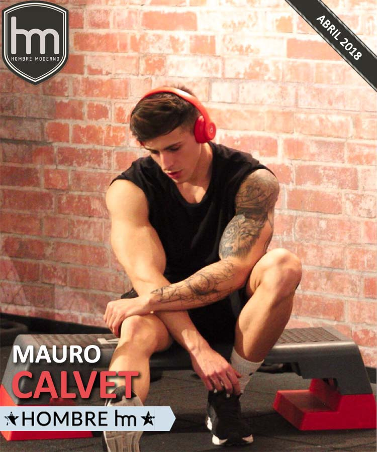 MAURO CALVET Hombre HM de Abril 2018