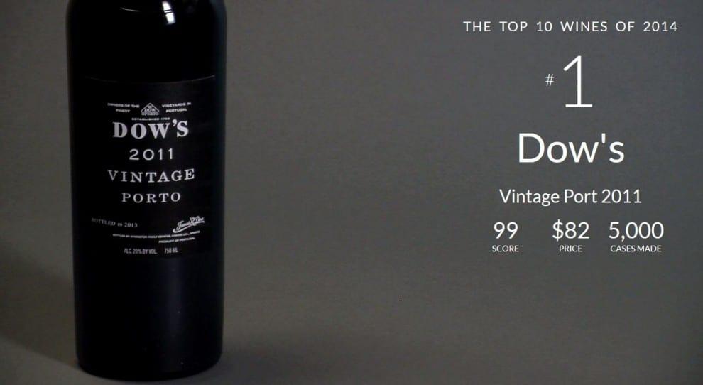 #1. Dow's Vintage Porto 2011 (Portugal)