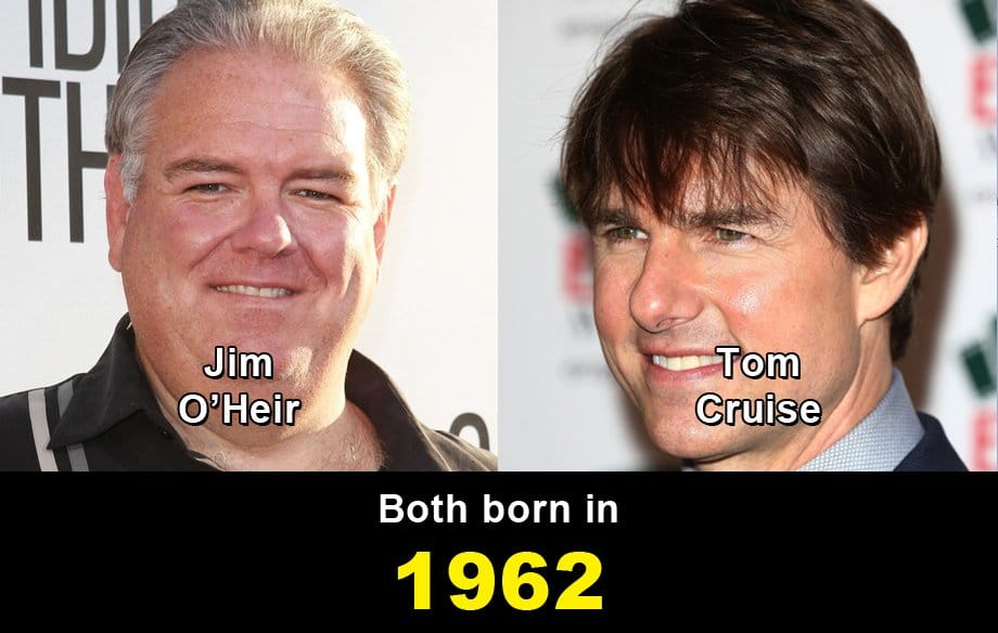 Jim O'Heir Vs Tom Cruise