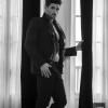 Americana Massimo Dutti, pantalones Dsquared, foulard Moschino