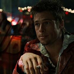 Brad Pitt interpretó a Tyler Durden en 'El club de la lucha'