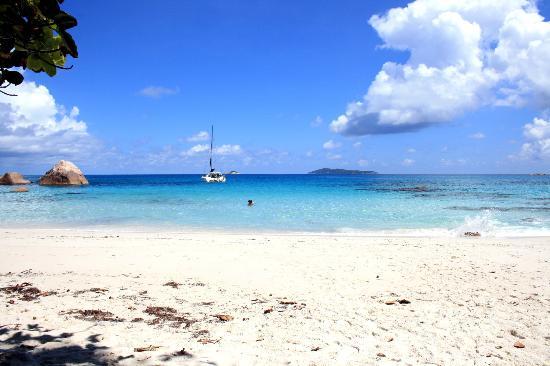 Anse Lazio (Isla de Praslin, Seychelles)