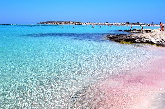 Playa de Elafonissi (Elafonissi, Grecia)