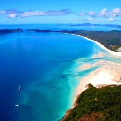 Whitehaven Beach (Whitsunday Island, Australia)