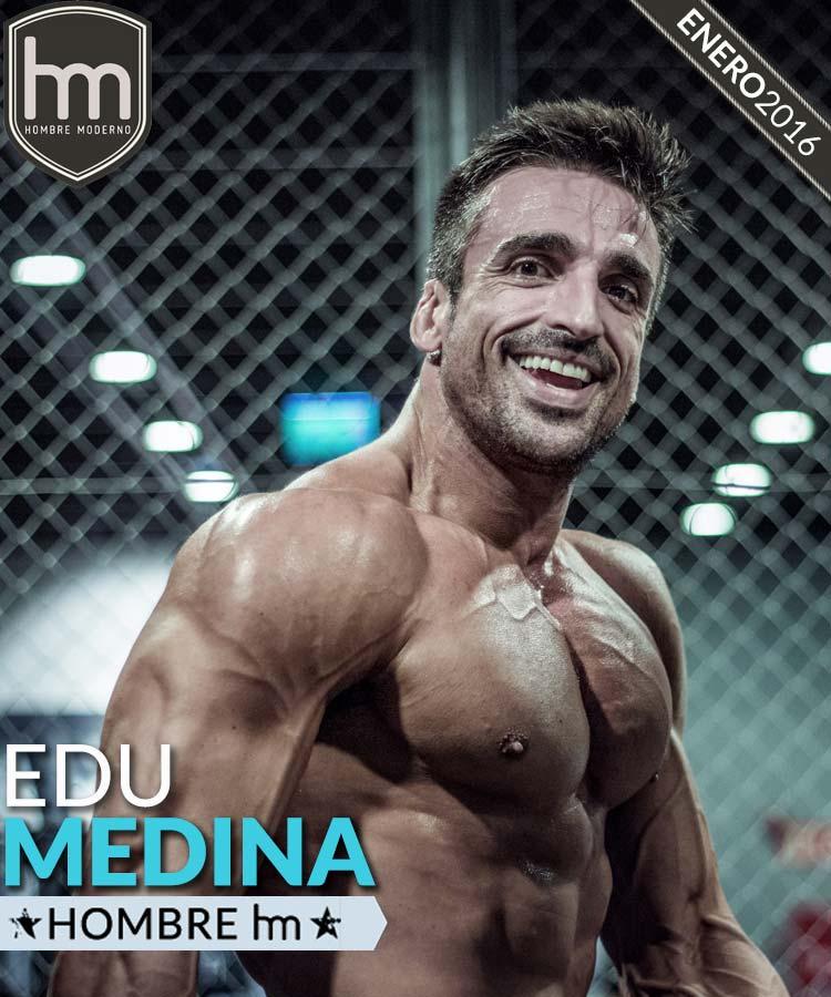 Edu Medina es nuestro Hombre hm de enero 2016