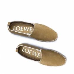 Alpargatas de ante de Loewe