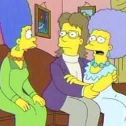 Los Simpson LGTB - Patty, la hermana de Marge