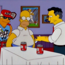 Los Simpson LGTB - DuffMan