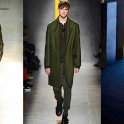 Los verdes militar, oliva y botella se configuran como los tonos de la temporada